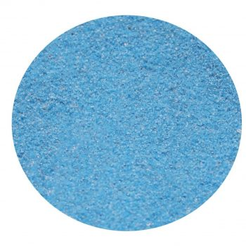 Cyan Coloured Sand